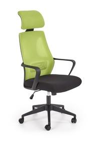 Fotel biurowy VALDEZ - zielony/czarny
