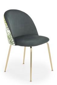 Krzesło K372 - ciemny zielony