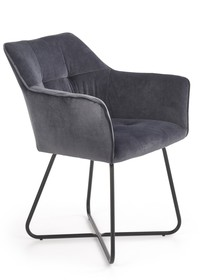 Krzesło K377 - ciemny popiel