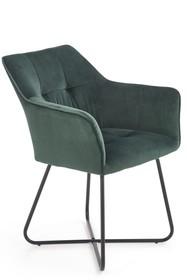 Krzesło K377 - ciemny zielony