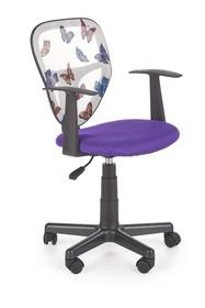 Fotel młodzieżowy SPIKER - fioletowy