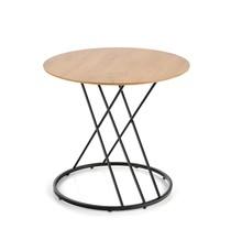 Stół SVEN 80 - naturalny/czarny