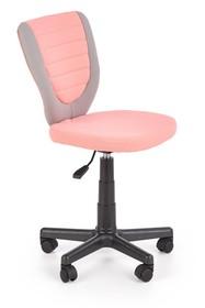 Fotel młodzieżowy TOBY - różowy
