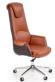 Fotel gabinetowy CALVANO - brązowy