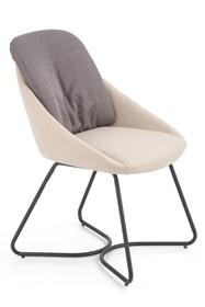 Krzesło K391 - ciemny popiel/jasny popiel