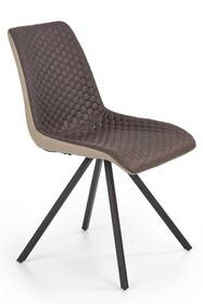 Krzesło K394 - brązowy/beżowy