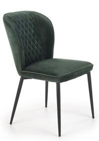 Krzesło K399 - ciemny zielony
