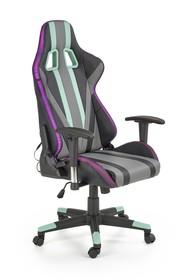 Fotel gamingowy z LED FACTOR - wielobarwny