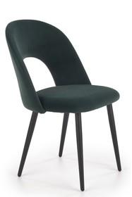 Krzesło K384 - ciemny zielony