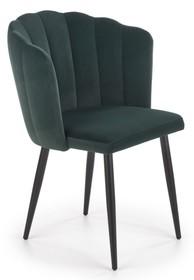 Krzesło K386 - ciemny zielony