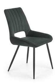 Krzesło K404 - ciemny zielony