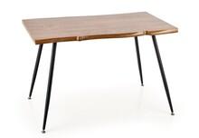 Stół LARSON 120x80 - naturalny/czarny