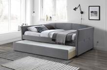 Łóżko rozkładane SANNA 90 - popielaty