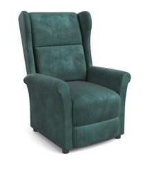 Fotel wypoczynkowy AGUSTIN 2 - ciemny zielony