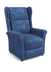 Fotel wypoczynkowy AGUSTIN 2 - granatowy