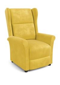 Fotel wypoczynkowy AGUSTIN 2 - musztardowy
