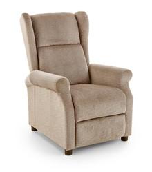 Fotel wypoczynkowy AGUSTIN - beżowy
