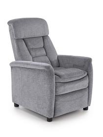 Fotel wypoczynkowy JORDAN - popielaty