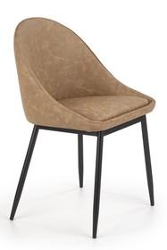 Krzesło K406 - brązowy