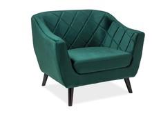 Fotel MOLLY 1 velvet - zielony Bluvel 78