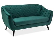 Sofa MOLLY 2 VELVET - ciemny zielony Bluvel 78