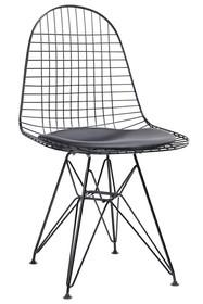 Krzesło DSR NET BLACK - czarny