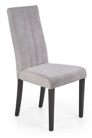 Krzesło DIEGO 2 - czarny/jasny popiel