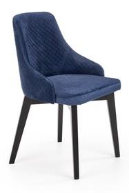 Krzesło TOLEDO 2 BIS velvet - granatowy