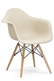 Fotel DAW - beżowy