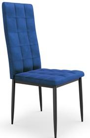 K415 krzesło granatowy velvet