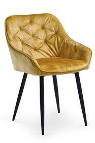 Krzesło K418 - musztardowy