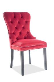 Krzesło AUGUST Velvet - czerwony Bluvel 59