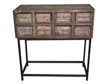 Komoda, konsola z szufladami, drewno, 75x73x34 cm (JL89000)