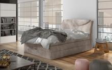 Łóżko kontynentalne SILENTO 100x200