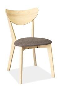 Krzesło CD-37 - dąb bielony/szary