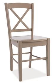 Krzesło drewniane CD-56 - truflowy