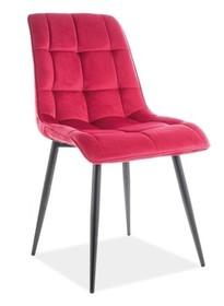 Krzesło CHIC VELVET - bordo Bluvel 59