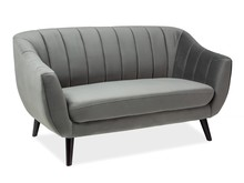 Sofa ELITE 2 VELVET - szary Bluvel 14