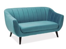 Sofa ELITE 2 VELVET - turkusowy Bluvel 85