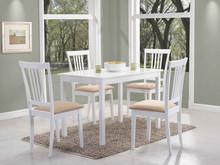 Stół FIORD 110x70 - biały
