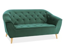 Sofa GALAXY 2 VELVET - zielony Bluvel 78