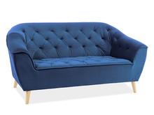 Sofa GALAXY 2 VELVET - granatowy Bluvel 86