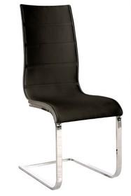 Krzesło H-668 - czarny/biały