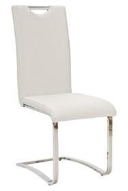 Krzesło H-790 ekoskóra - biały