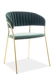 Krzesło LIRA VELVET - zielony