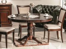 Stół rozkładany MARGO 90x90 - ciemny orzech