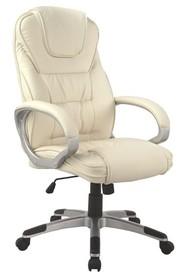 Fotel biurowy Q-031 - beżowy