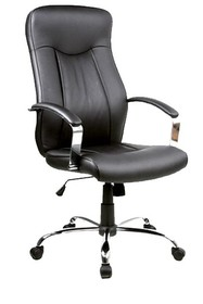 Fotel obrotowy Q-052 - czarny