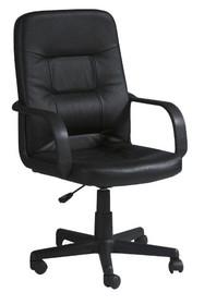Fotel biurowy Q-084 - czarny