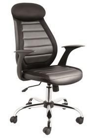 Fotel biurowy Q-102 - czarny